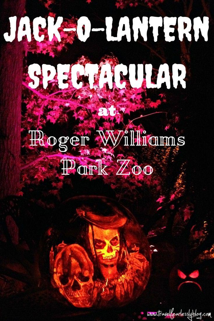 jack-o-lantern spectacular at roger williams park zoo   park