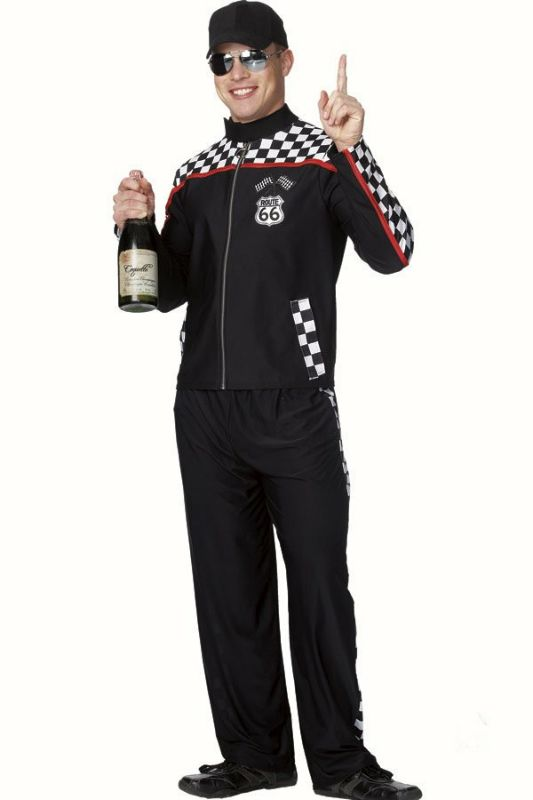 1382b337c6 Male Race Car Driver Adult Costume