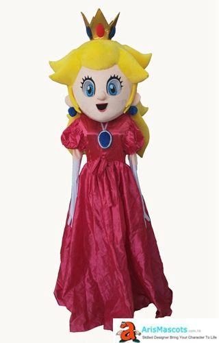 Princess Peach Costume Adult