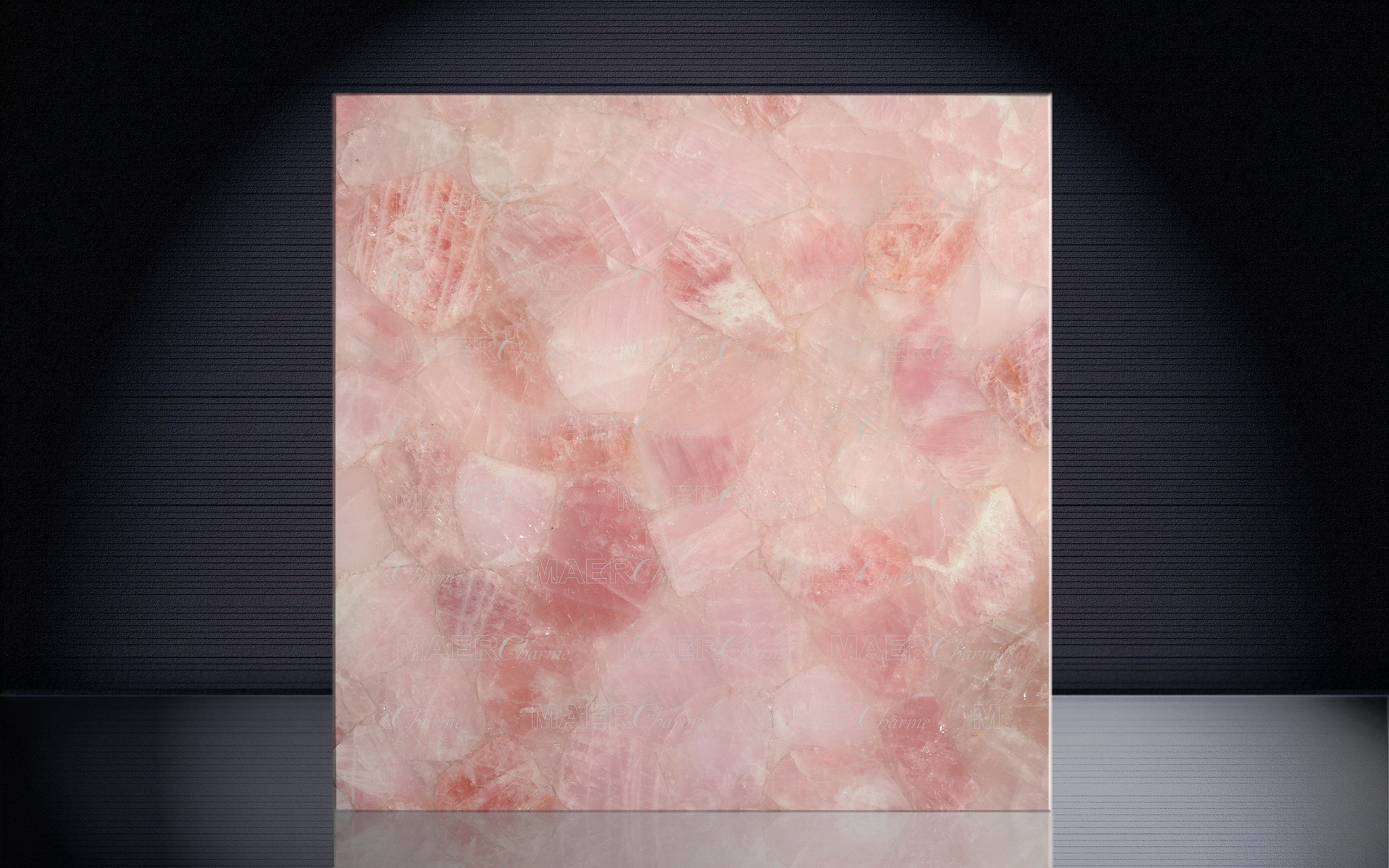 rose quartz polished - Google Search