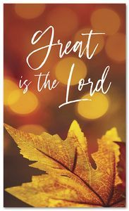 Fall Harvest Great is the Lord  HB183B xw  Fall Harvest Great is the Lord  HB183B xw