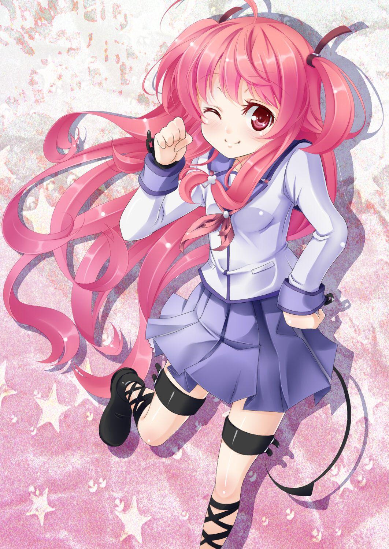 Yui from Angel Beats! D kawaii Manga japonais