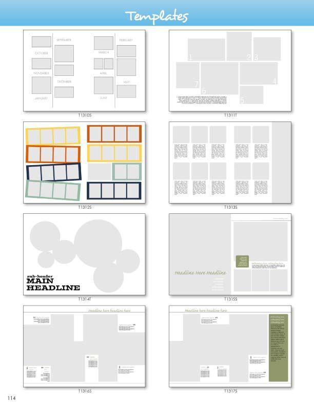 Templates | Anuarios | Pinterest | Anuarios y Plantas