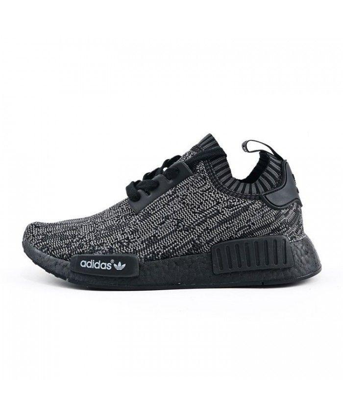 2a56f75b7e7f9 Adidas NMD Runner Primeknit Pitch Black Shoes S80489