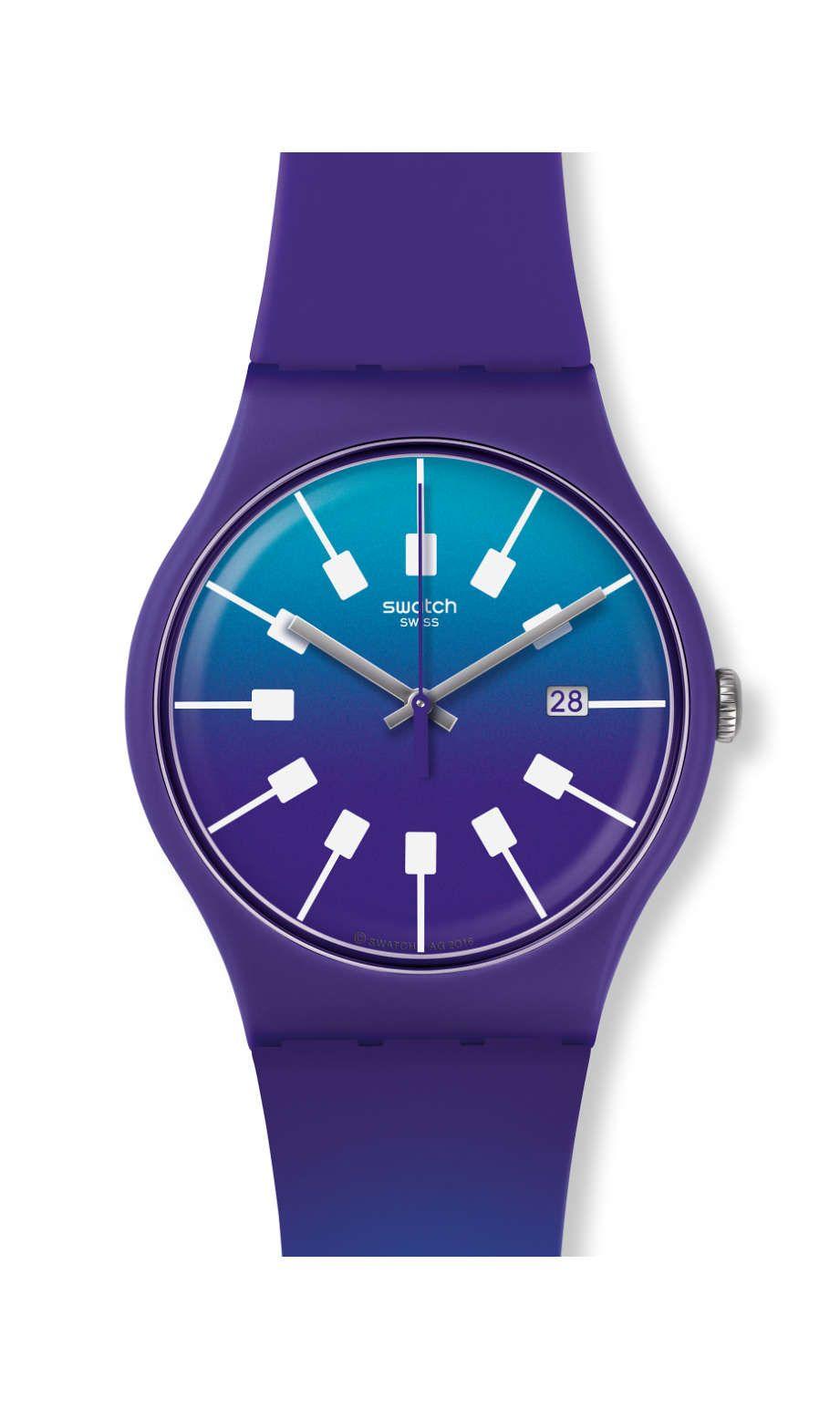 0088c2c034fe CRAZY SKY   Prerelease Woman s Watches ~ Relojes de Mujer en  Pre-lanzamiento   Originals New Gent -Action Heroes Collection   Swatch     Watch