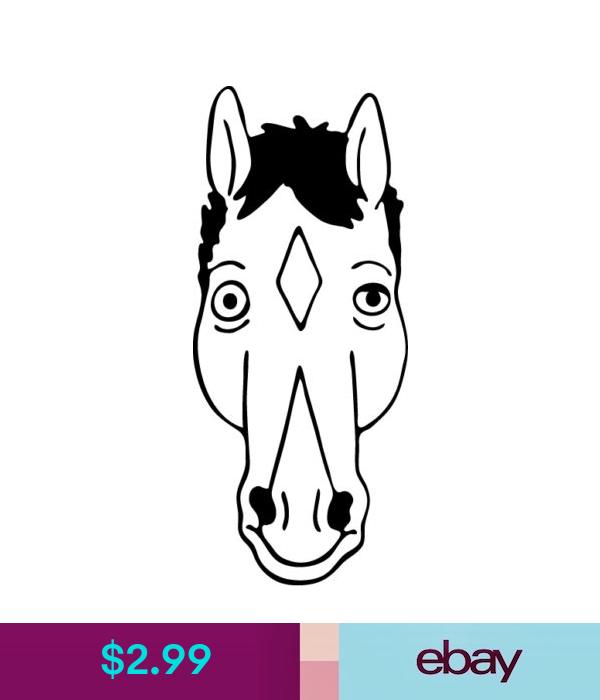 Decals Stickers Vinyl Art Bojack Horseman Vinyl Decal Netflix Cartoon Will Arnett Sticker Hollywoo Ebay Home Garden Bojack Horseman Horseman Cartoon