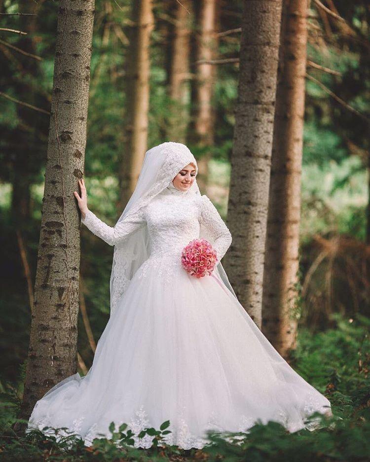 Pin By Asiah On Muslim Bridal Hijab(Niqab)~Bridesmaids In