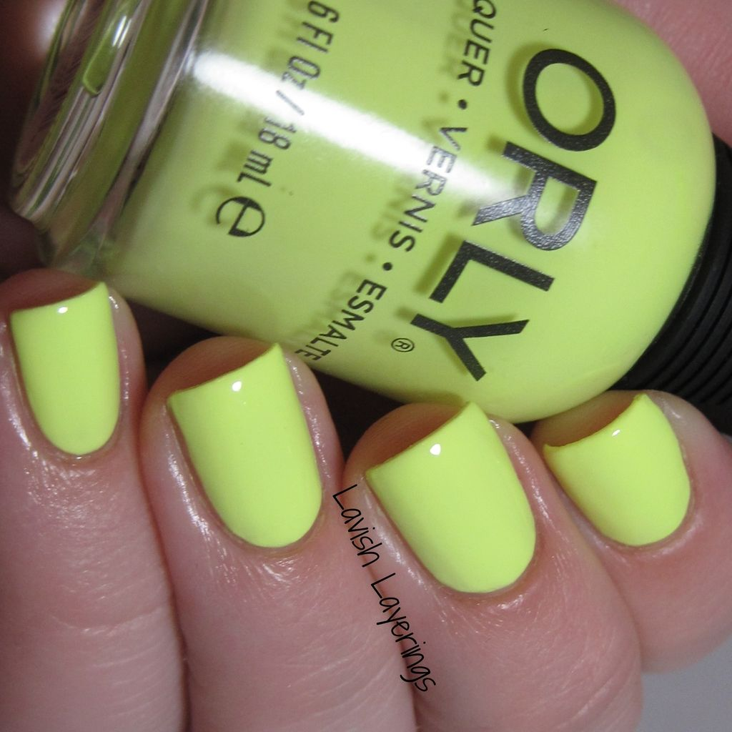 Orly Key Lime Twist | Nails | Pinterest