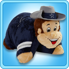 MY little man loves HIS Cowboys pillow