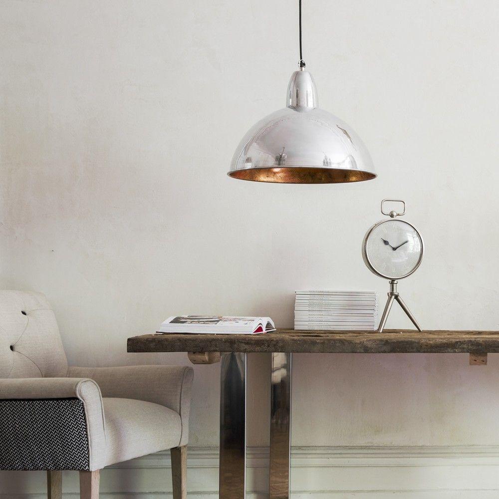 Contemporary Ceiling Pendant Light in Chrome
