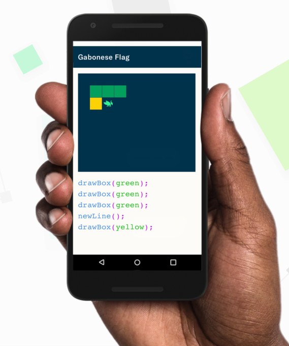 Grasshopper, a learn-to-code app from Google's Area 120 incubator