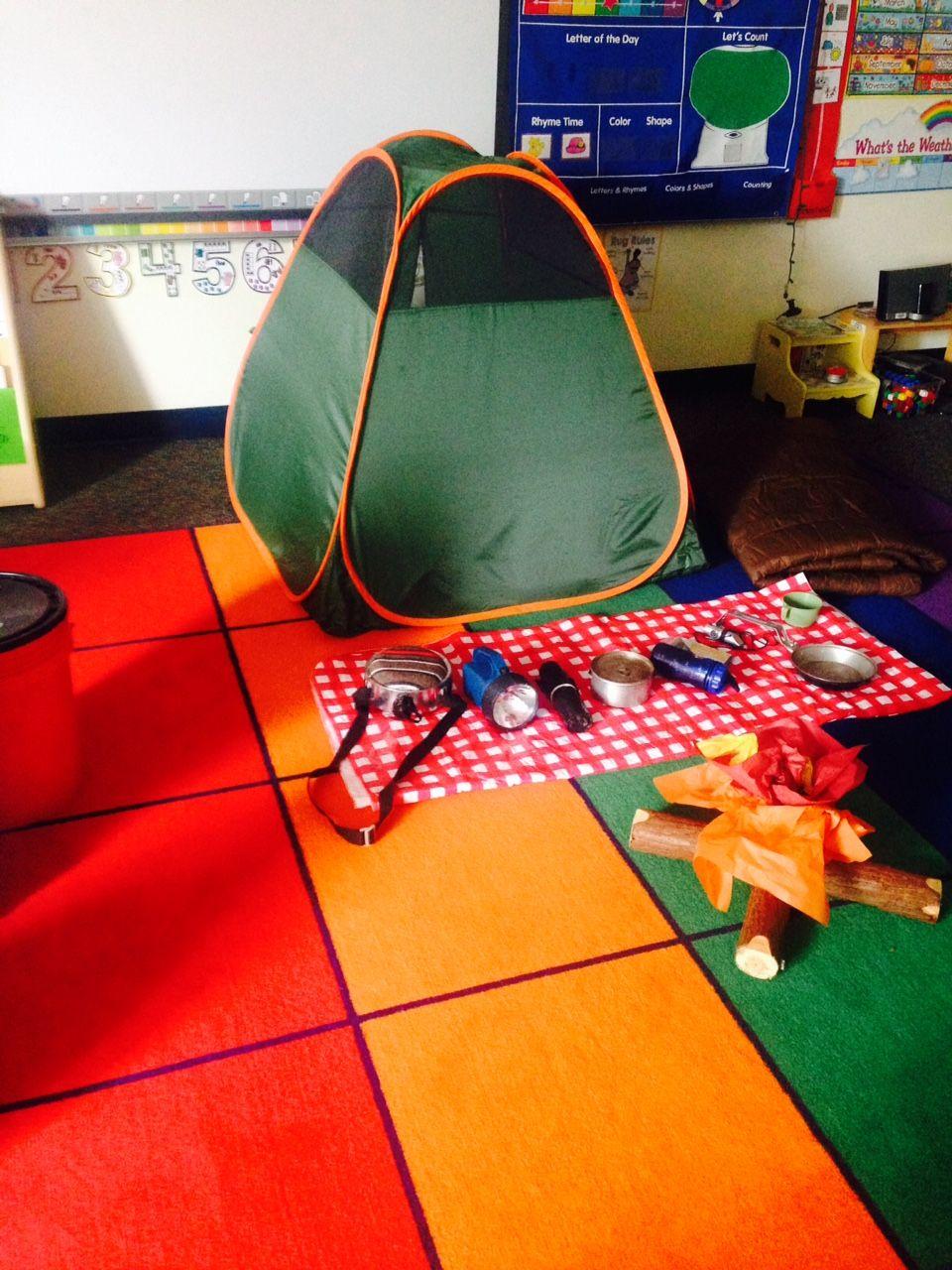 Preschool Wonders: Little Campers!