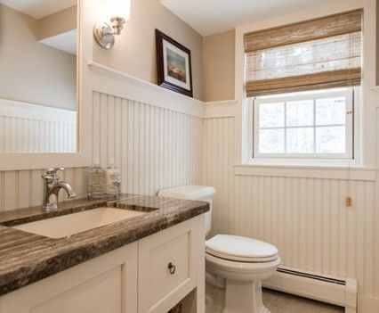 Bathroom New England Architecture New England Style Colonial Cape Cod Traditional Cl Traditional Bathroom Vanity Stone Shower Walls Stone Floor Bathroom