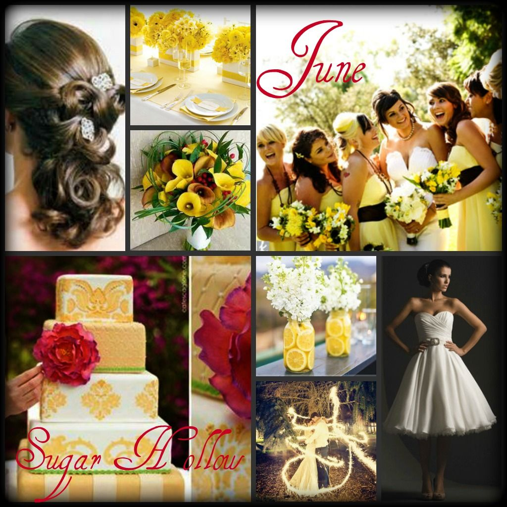 Wedding Wishes After Wedding: June Wedding Ideas