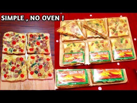 Roti Tawar Topping Telur Ide Jualan Inspirasi Snack Sarapan