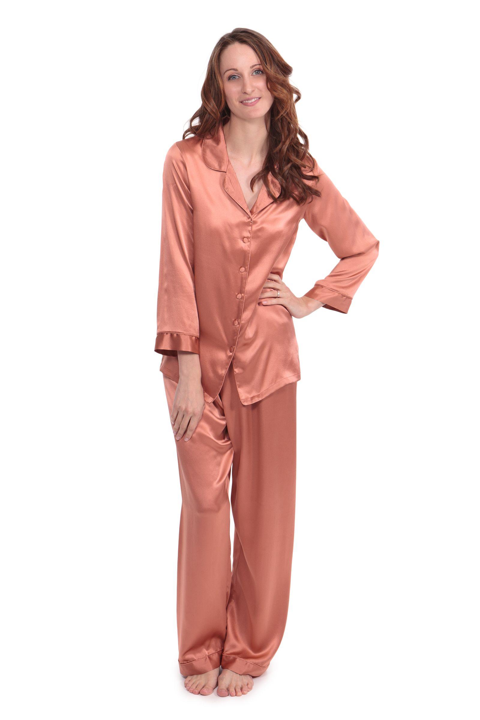Morning Dew  Women s Silk Pajamas  feb7be139