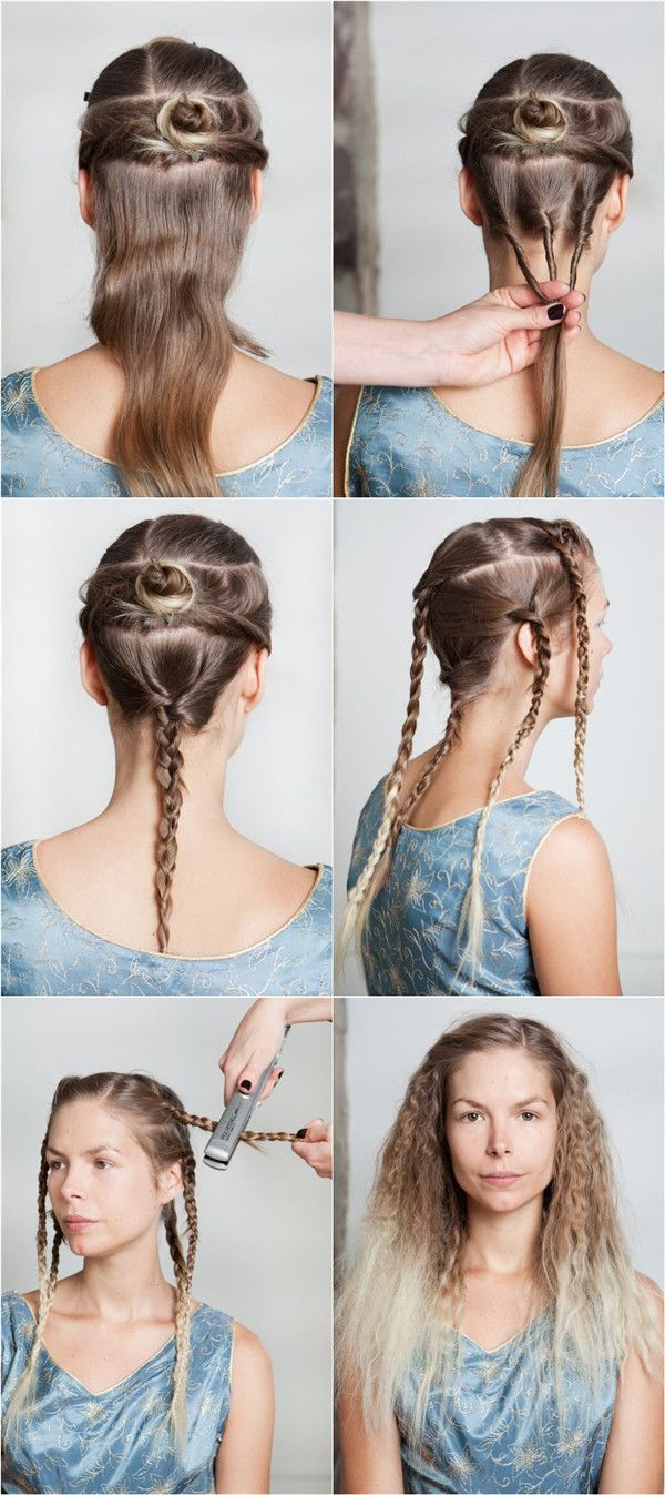 Curly hairstyles tutorials - How To Make Ombre Curly Hair Tutorial
