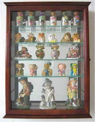 LITTLE BIG LIFE: Even A Small Kitchen Has Place For A Wall Mount Display  Cabinet For All Your Collectibles!