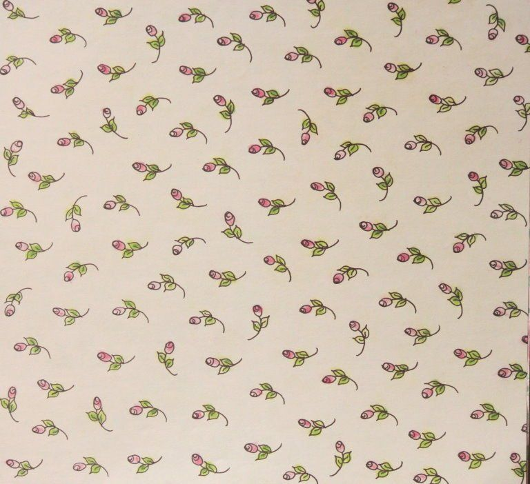 Design Originals Tiny Pink Roses 12 x 12 Flat Scrapbook Paper is available at Scrapbookfare.com.