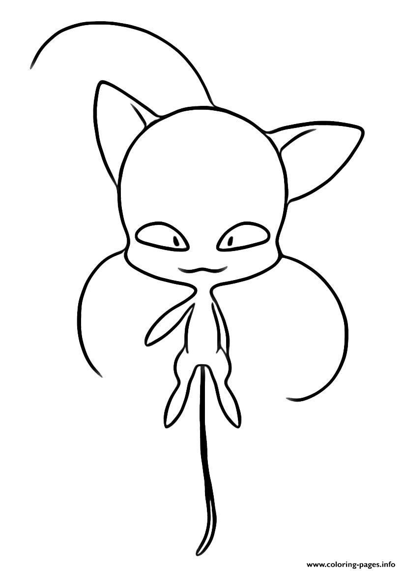 Ladybug And Cat Noir Coloring Page Youngandtae Com In 2020 Ladybug Coloring Page Mermaid Coloring Pages Cat Coloring Page