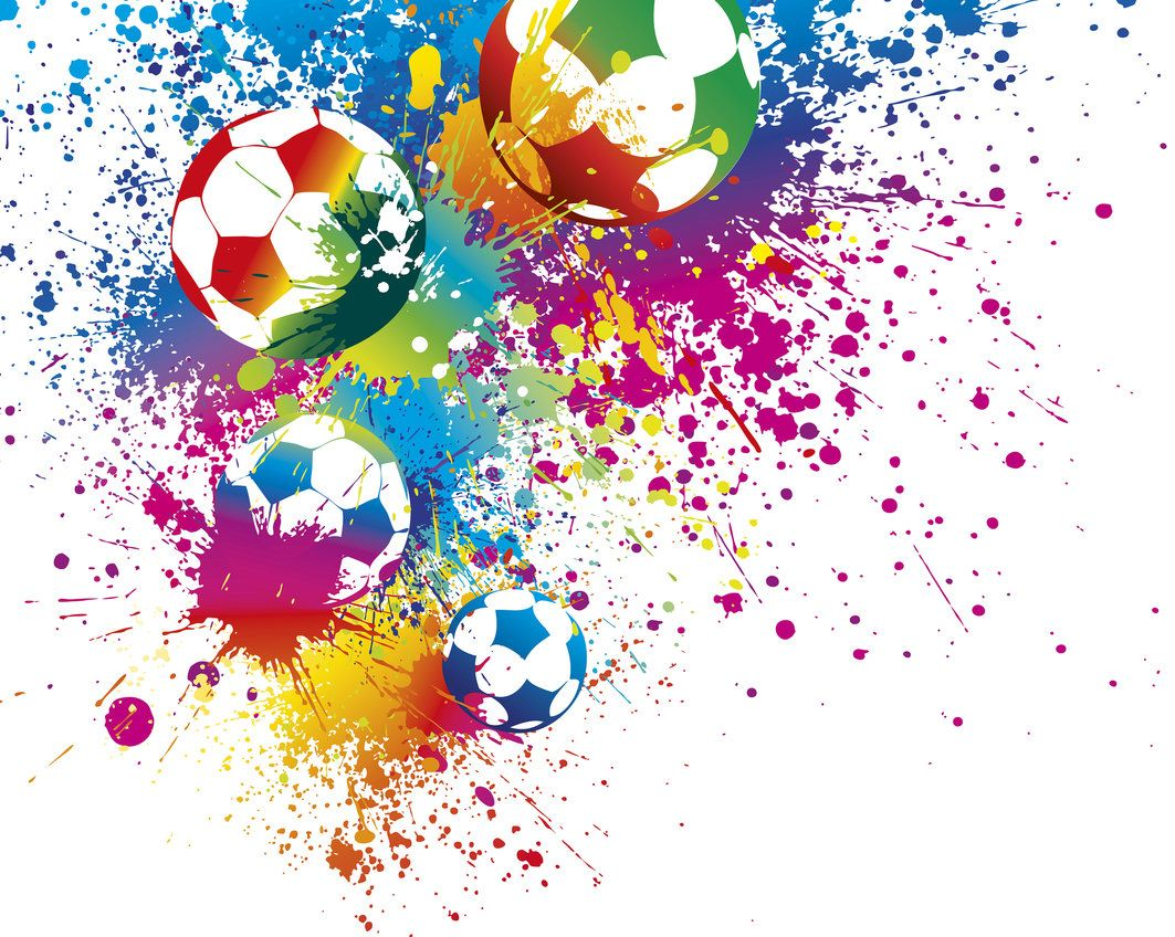 Football splash wallpaper mural for kids football bedroom for Wandsticker jugendzimmer