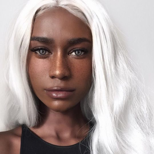 Black People With White Hair Www Pixshark Com Images