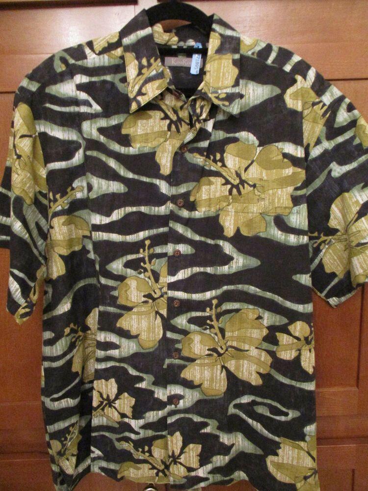 00d21df7 Vtg KOA ROAD Large Mens SS Floral Hawaiian Aloha Friday Hidden Pocket USA |  Clothing, Shoes & Accessories, Men's Clothing, Shirts | eBay!