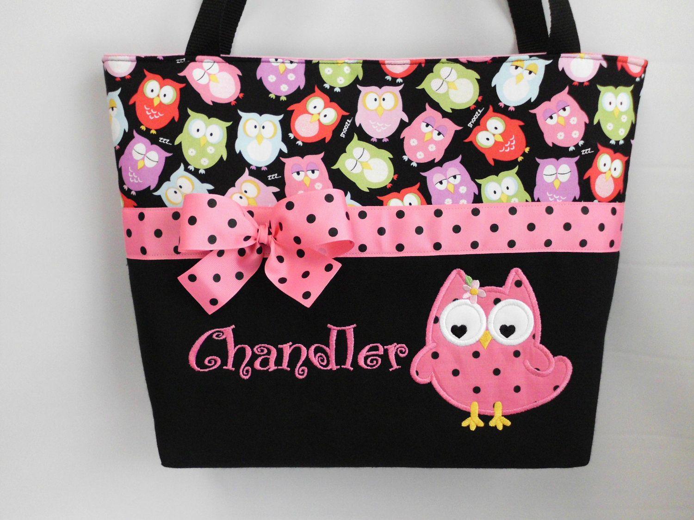 Olivia Owl Diaper Bag Lique Personalized Free