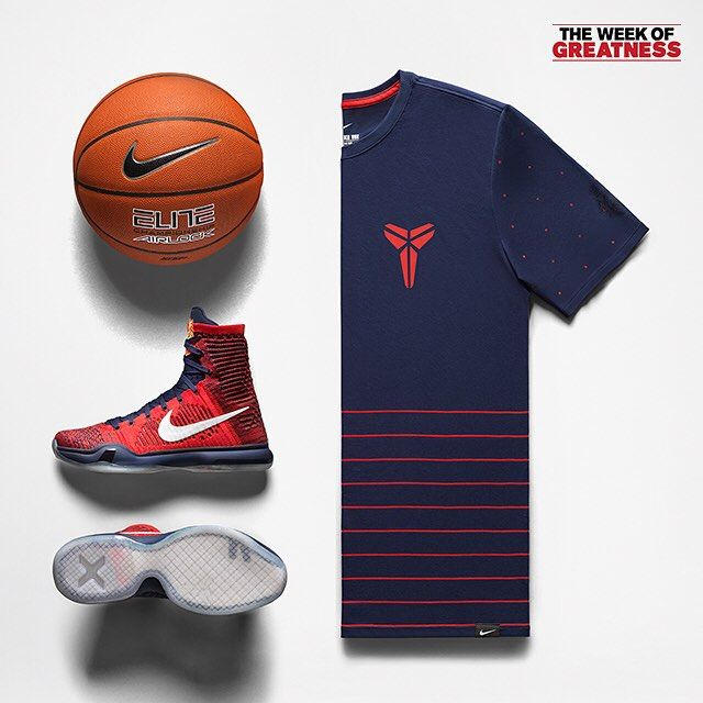 huge discount 5361f 94c97 The  Nike Kobe X Elite American Collection. In stores and online at  footlocker.com.  WeekOfGreatness
