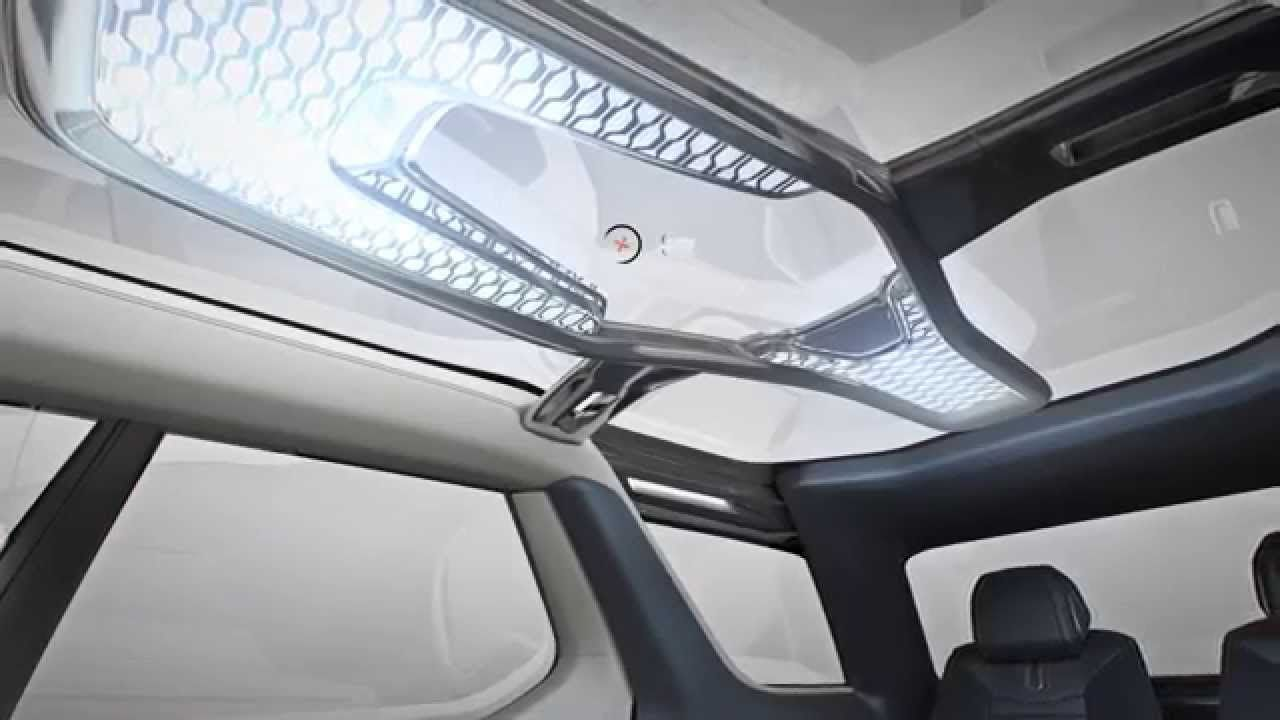 Discovery Vision Concept Interior Versatility and