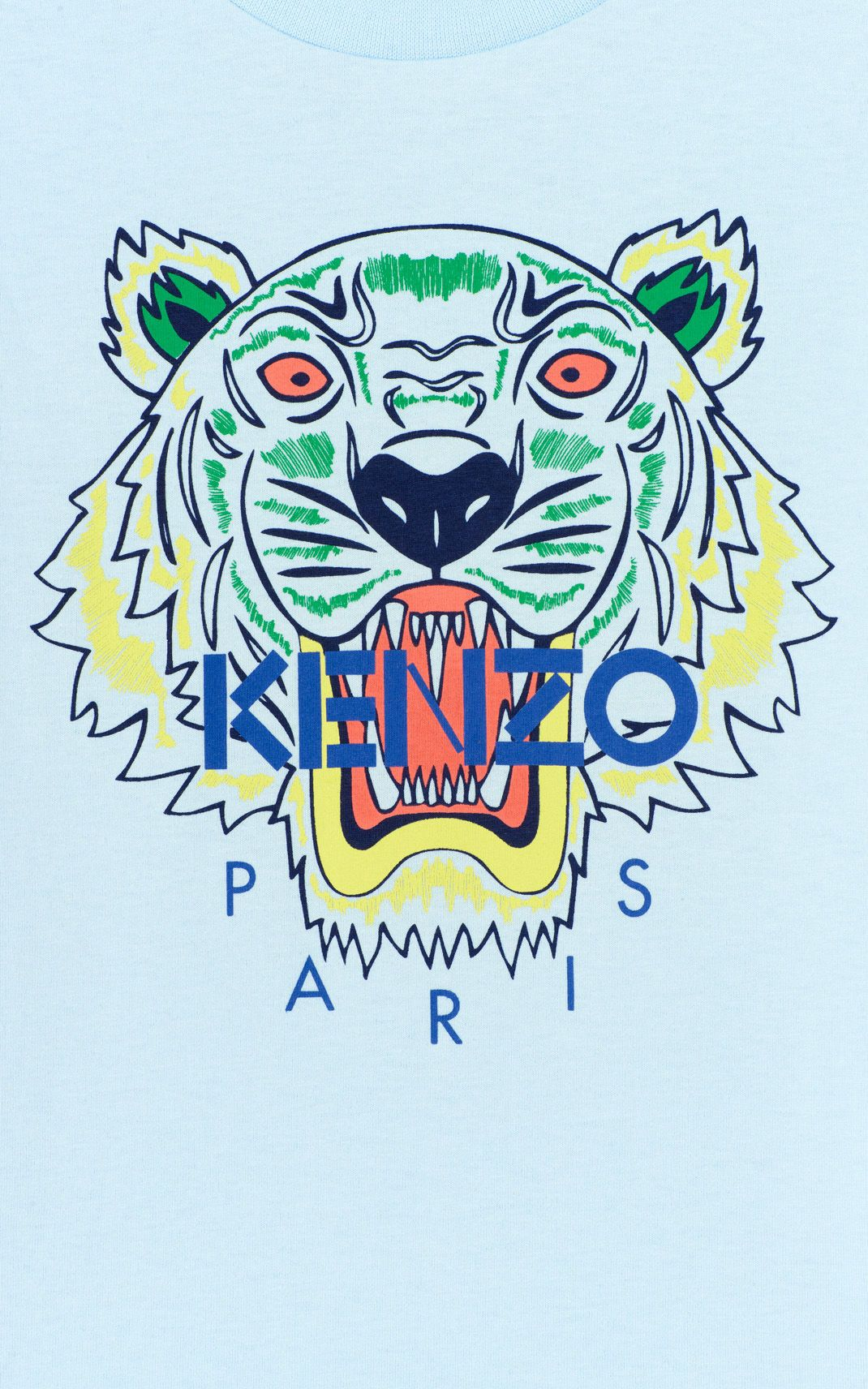 2eb7144e73 LIGHT BLUE Tiger t-shirt for men KENZO | kenzo in 2019 | Kenzo ...