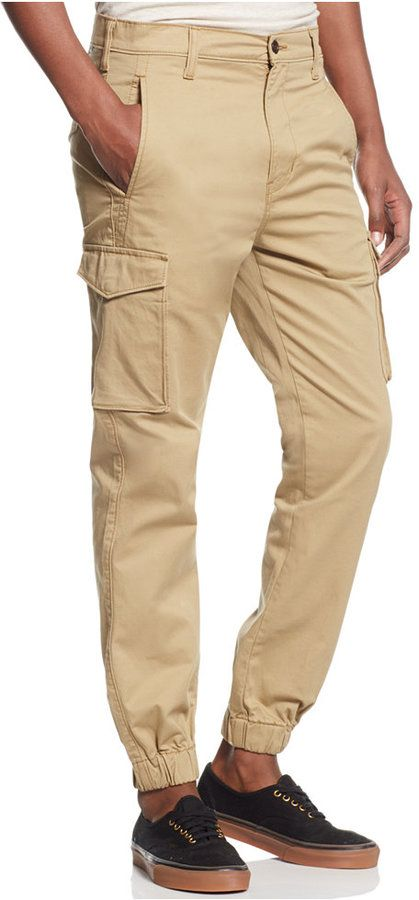fd9795be225 Levi's Men's Banded Slim Fit Cargo Joggers | FRYE BOOTS in 2019 ...