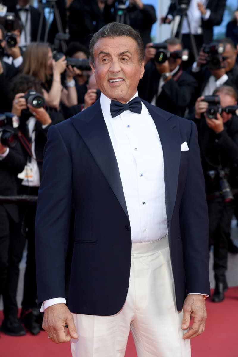 Sylvester Stallone posted an amazing photo with daughter ...