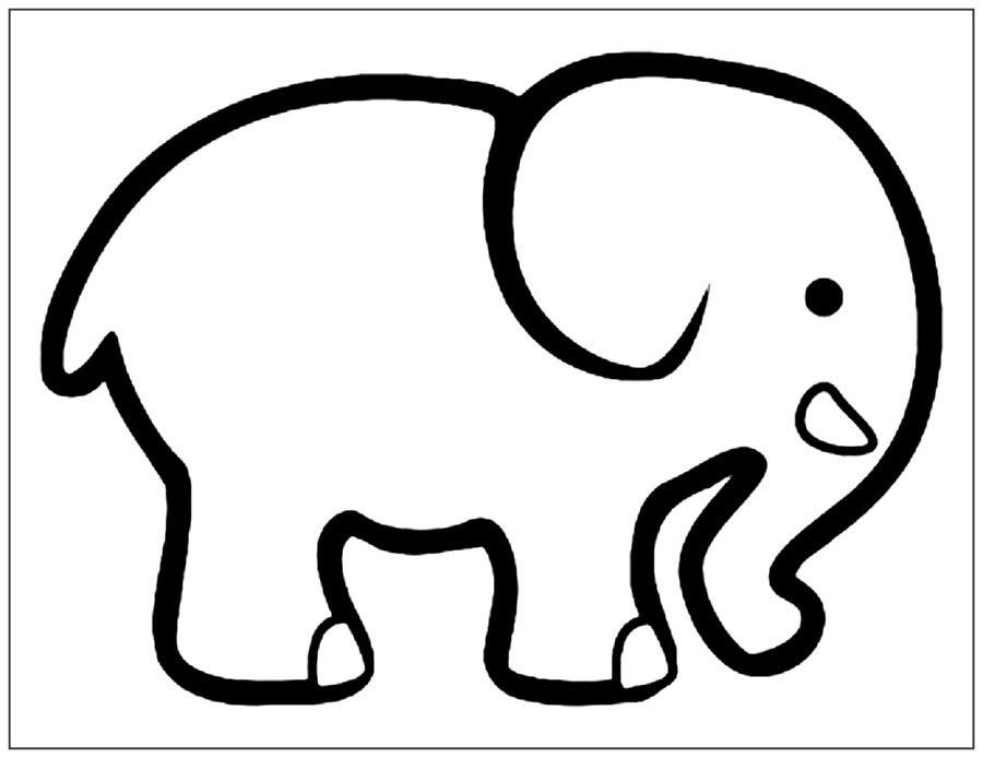 Imagenes De Elefantes Para Colorear En 2020 Elefantes Para