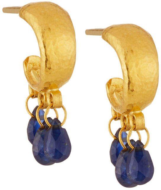 Gurhan 24k Sapphire Dew Briolette Earrings n1VyCzAp