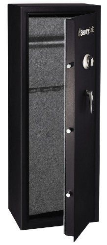 Black Gun Safe In Living Room Decor: SentrySafe G1459C Combination Lock Safe, Black Powder Coat