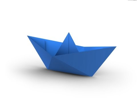 How To Make A Simple Origami Boat That Floats Hd Youtube Make A Paper Boat Origami Boat Origami Easy