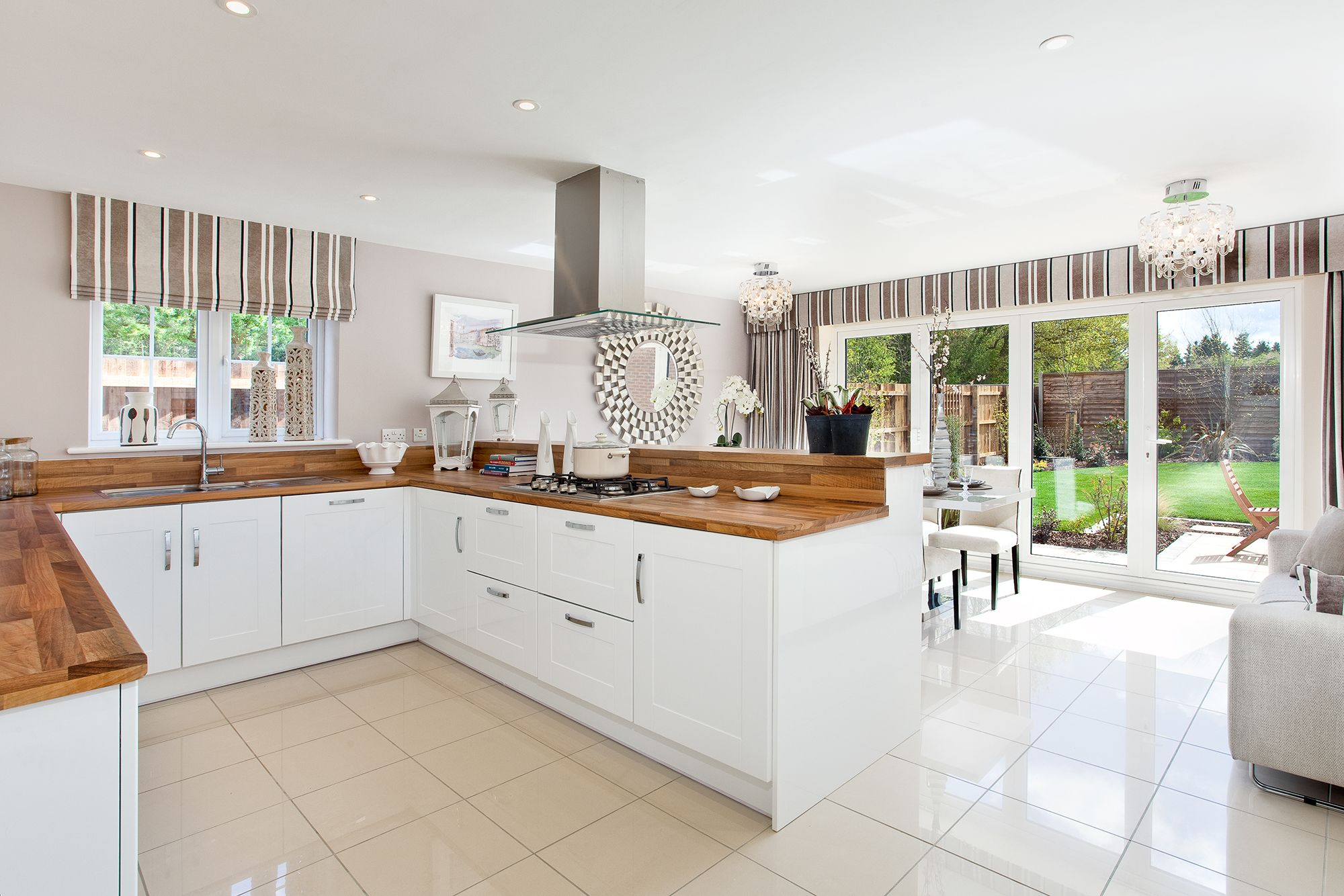 The kitchen in The Winchester at The Fairways in Leamington Spa