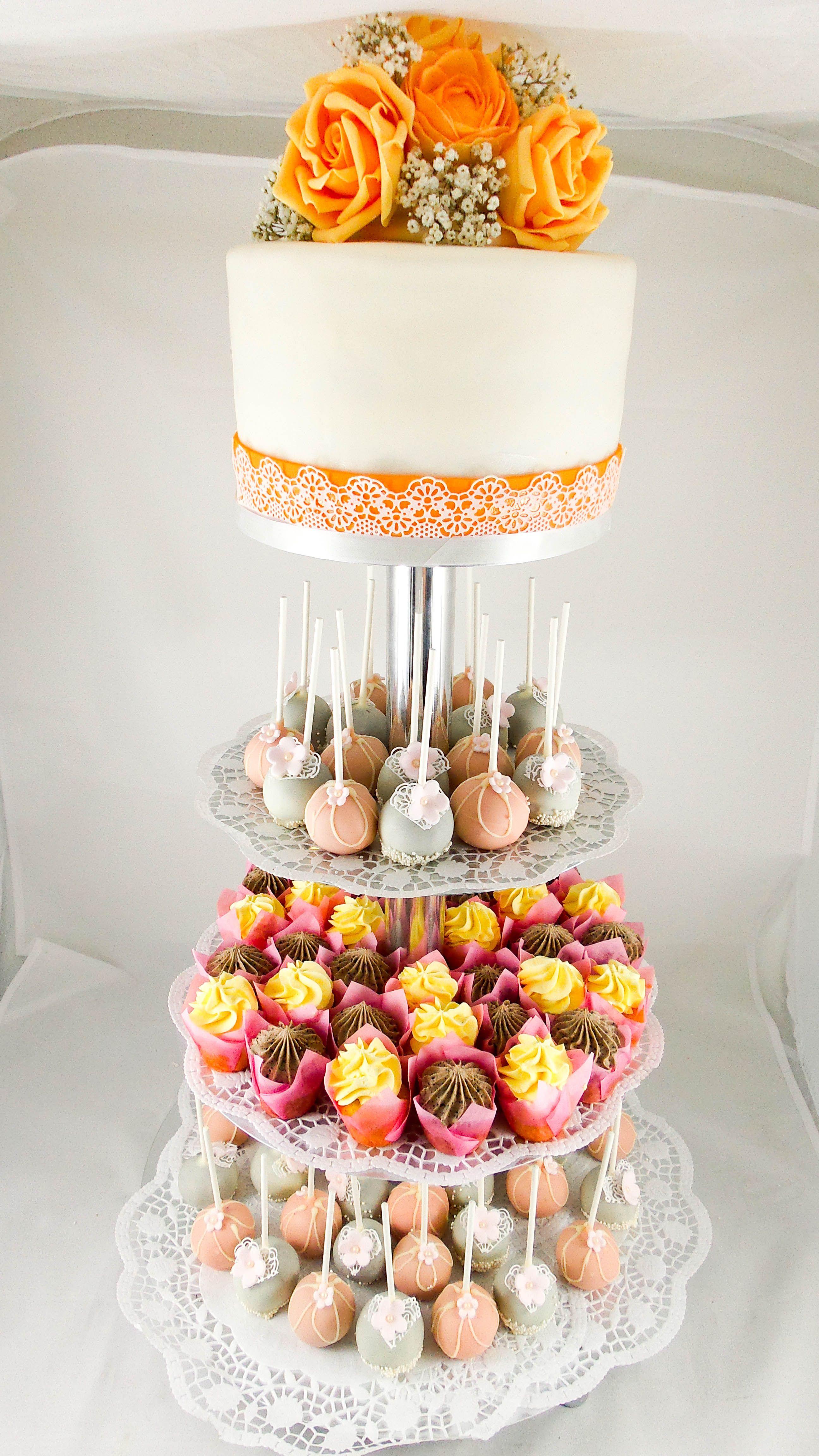 Hochzeitstorte Cupcakes Torten Pinterest