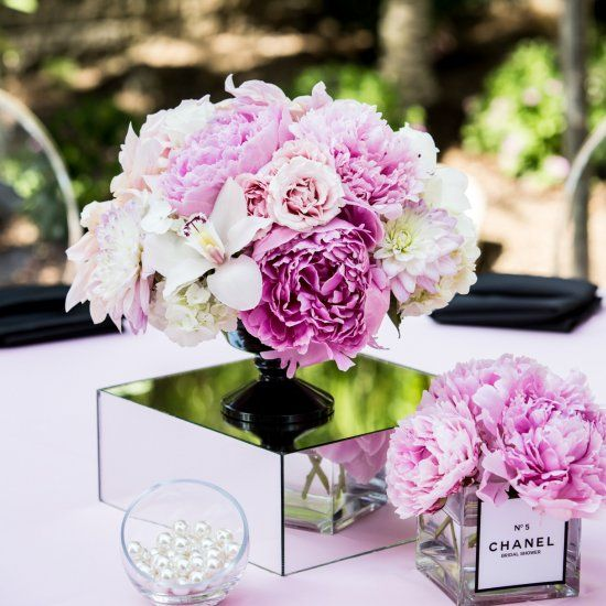 A Stunning Chanel Themed Bridal Shower You Have To See Flowers