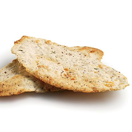 Parmesan-Rosemary Flatbread Crackers by Cooking Light
