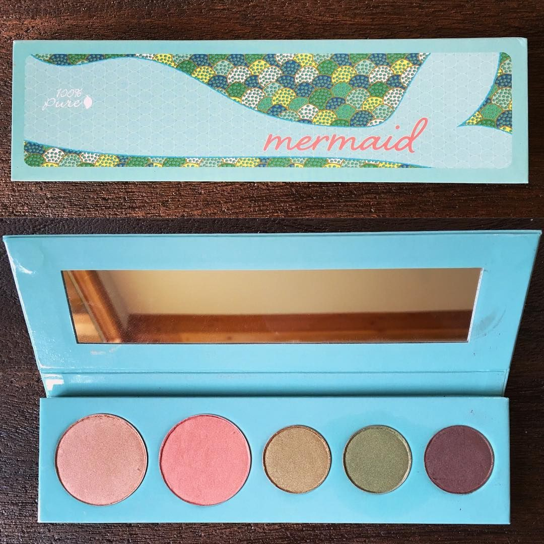 100 Percent Pure's Mermaid Palette (With images) Vegan