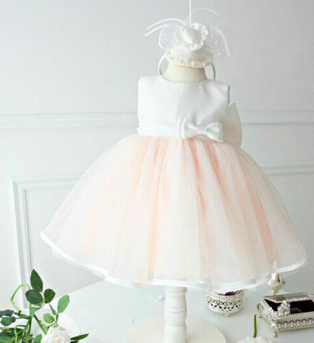 Light Pink Flower Girl Dress