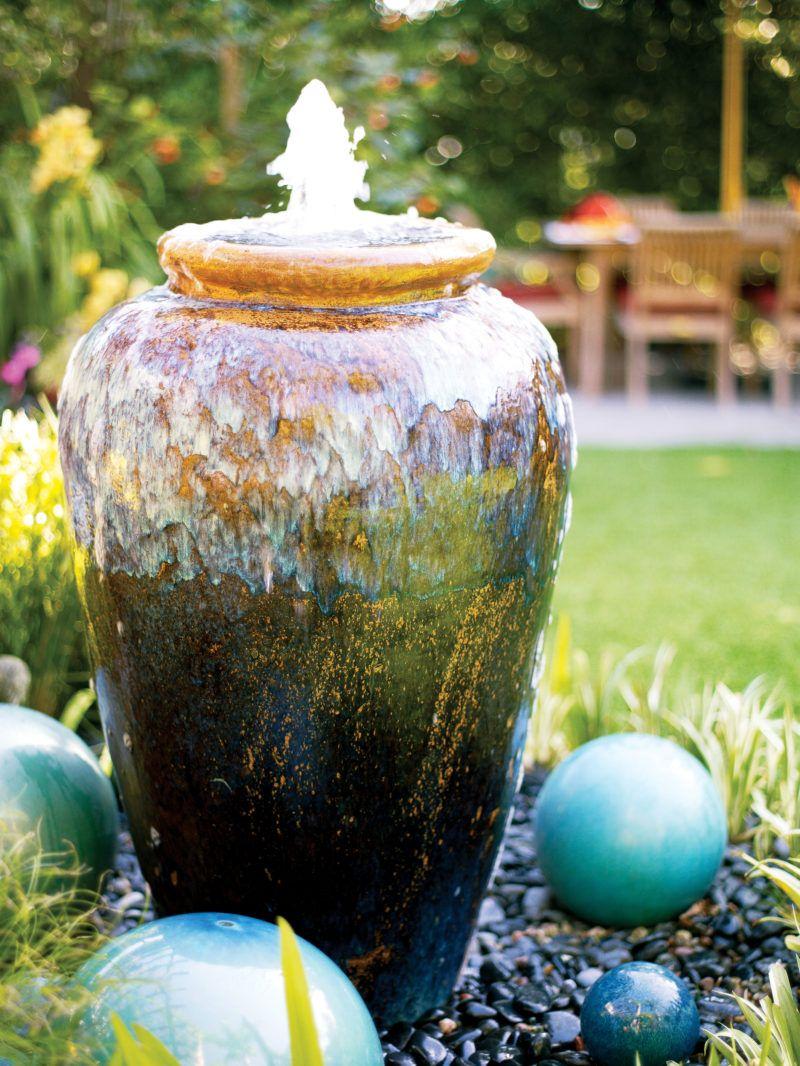 Great Garden Fountain Ideas Garden Water Fountains Fountains Backyard Diy Garden Fountains