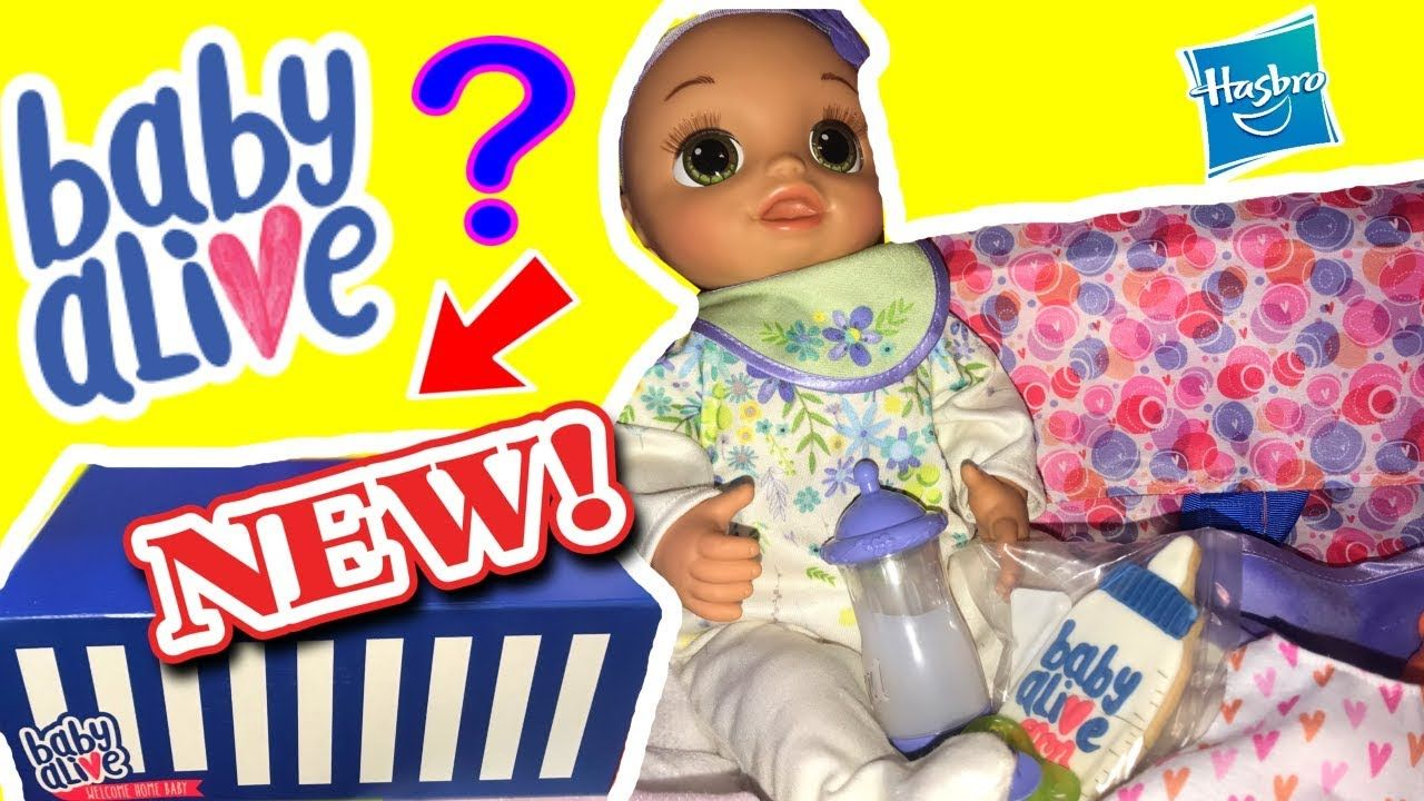New Baby Alive Real As Can Be Baby Doll Unboxing Toy Review 2018new Real As Can Be Baby Alive Real As Can Be B Baby Alive Baby Alive Dolls New Baby