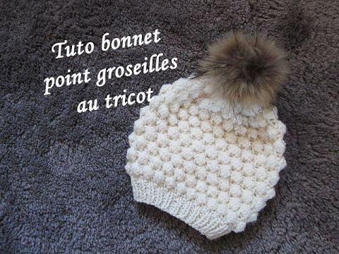 Épinglé par Christine Dutt sur tricot   Pinterest   Tricot, Bonnet ... 09db715bc4b