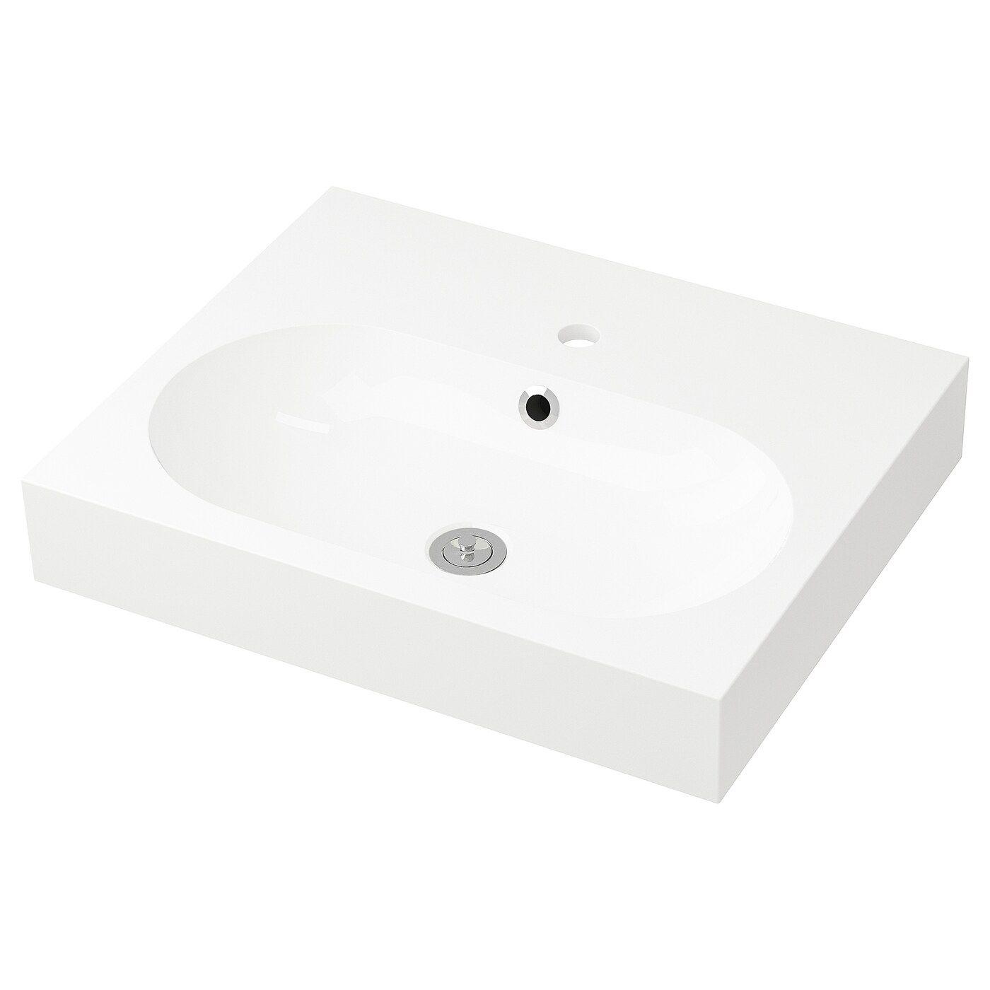 Braviken Waschbecken 1 Weiss Waschbecken Ikea Und Reinigungsmittel