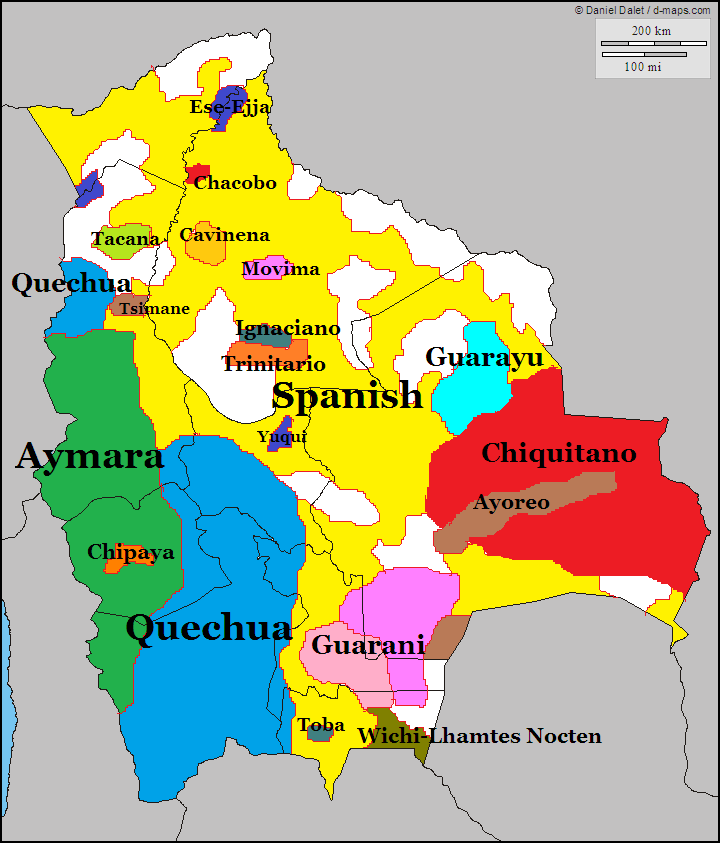 Languages of bolivia history in maps pinterest bolivia languages of bolivia south americageographyethnicpoliticsmapslanguages cards sciox Image collections