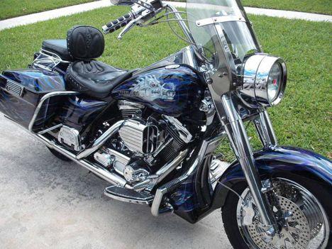 Photo 1997 Harley Road King Cruiser Motorcycle Bill Description Photos