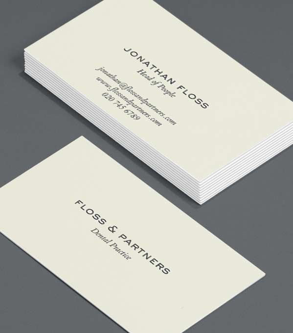 Best Practice Luxury Business Cards
